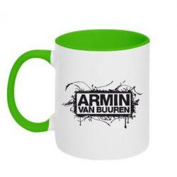 Кружка двухцветная Armin Van Buuren - FatLine