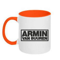 Кружка двухцветная Armin - FatLine