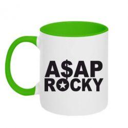 Кружка двухцветная ASAP ROCKY - FatLine