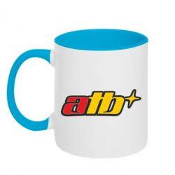 Кружка двухцветная ATB - FatLine