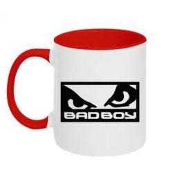 Кружка двухцветная Bad Boy - FatLine