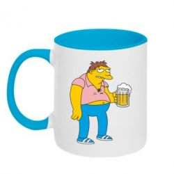 Кружка двухцветная Барни Гамбл - FatLine
