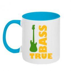 Кружка двухцветная Bass True - FatLine