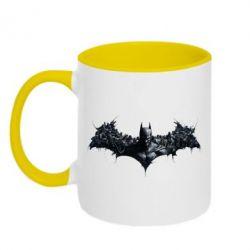 Кружка двухцветная Batman Arkham Asylum - FatLine