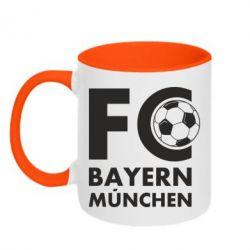 Кружка двоколірна 320ml Баварія Мюнхен