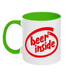 Кружка двухцветная Beer Inside - FatLine