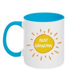 Кружка двоколірна 320ml Best Grandma