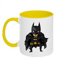 Кружка двухцветная Бэтмен Арт