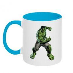 Кружка двухцветная Big Hulk - FatLine