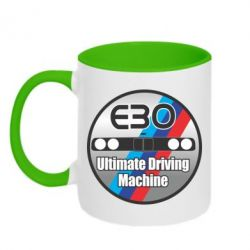 Кружка двухцветная BMW E30 Ultimate Driving Machine - FatLine