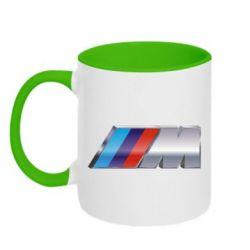 Кружка двухцветная BMW M POWER - FatLine