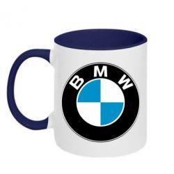 Кружка двухцветная BMW Small - FatLine