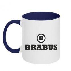 Кружка двухцветная Brabus - FatLine
