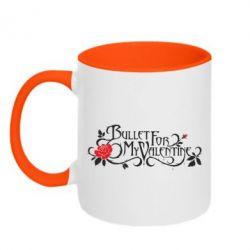Кружка двухцветная Bullet For My Valentine