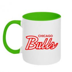 Кружка двухцветная Bulls from Chicago - FatLine