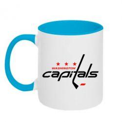 Кружка двухцветная Capitals - FatLine