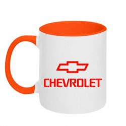Кружка двухцветная Chevrolet Small - FatLine