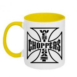 Кружка двокольорова Choppers - FatLine