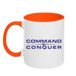 Кружка двухцветная Command and Conquer