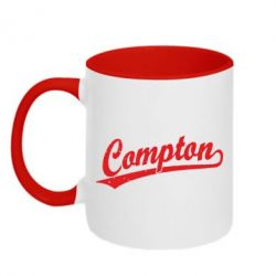 Кружка двухцветная Compton Vintage - FatLine