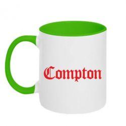 Кружка двухцветная Compton - FatLine