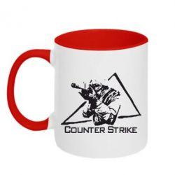 Кружка двухцветная Counter Strike Gamer - FatLine