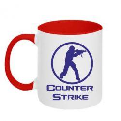 Кружка двухцветная Counter Strike - FatLine