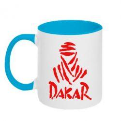 Кружка двокольорова Dakar - FatLine