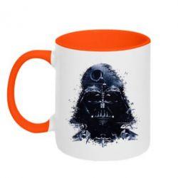 Кружка двухцветная Darth Vader Space - FatLine