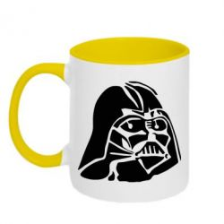 Кружка двухцветная Darth Vader - FatLine
