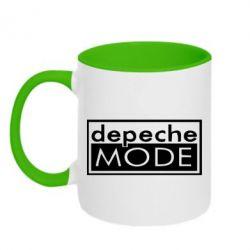 Кружка двухцветная Depeche Mode Rock - FatLine