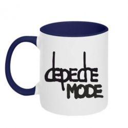 Кружка двухцветная Депеш Мод - FatLine