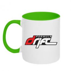 Кружка двухцветная Drift Formula - FatLine