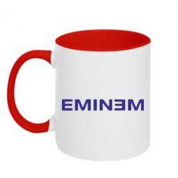 Кружка двухцветная Eminem - FatLine