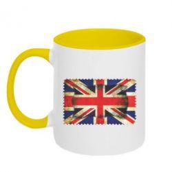 Кружка двухцветная England - FatLine