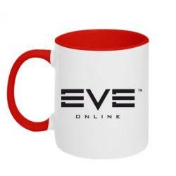 Кружка двухцветная EVE Online - FatLine