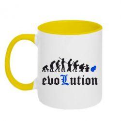 Кружка двухцветная Evolution Death Note - FatLine
