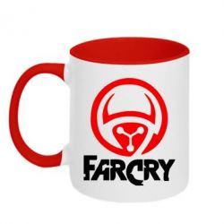Кружка двухцветная FarCry LOgo - FatLine