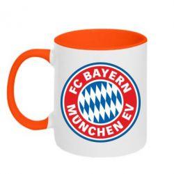 Кружка двухцветная FC Bayern Munchen - FatLine