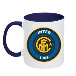 Кружка двухцветная FC Inter - FatLine