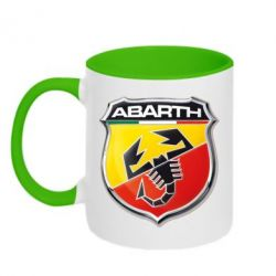 Кружка двухцветная FIAT Abarth - FatLine