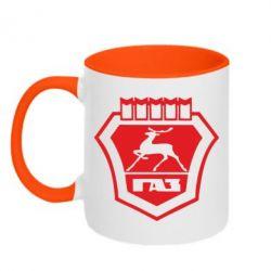 Кружка двокольорова ГАЗ - FatLine