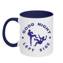 Кружка двухцветная Good Night - FatLine