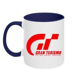 Кружка двухцветная Gran Turismo - FatLine