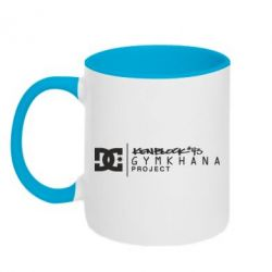 Кружка двухцветная Gymkhana Project Ken Block - FatLine