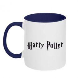 Кружка двухцветная Harry Potter - FatLine