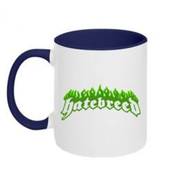 Кружка двухцветная Hatebreed - FatLine