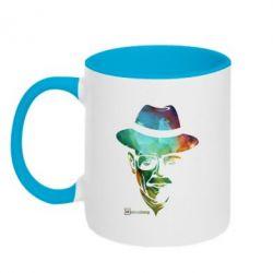 Кружка двухцветная Heisenberg - FatLine