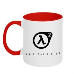 Кружка двухцветная HL - FatLine