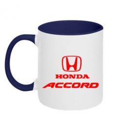 Кружка двухцветная Honda Accord - FatLine